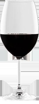Verre vin rouge Boucherie Prélaz Genolier