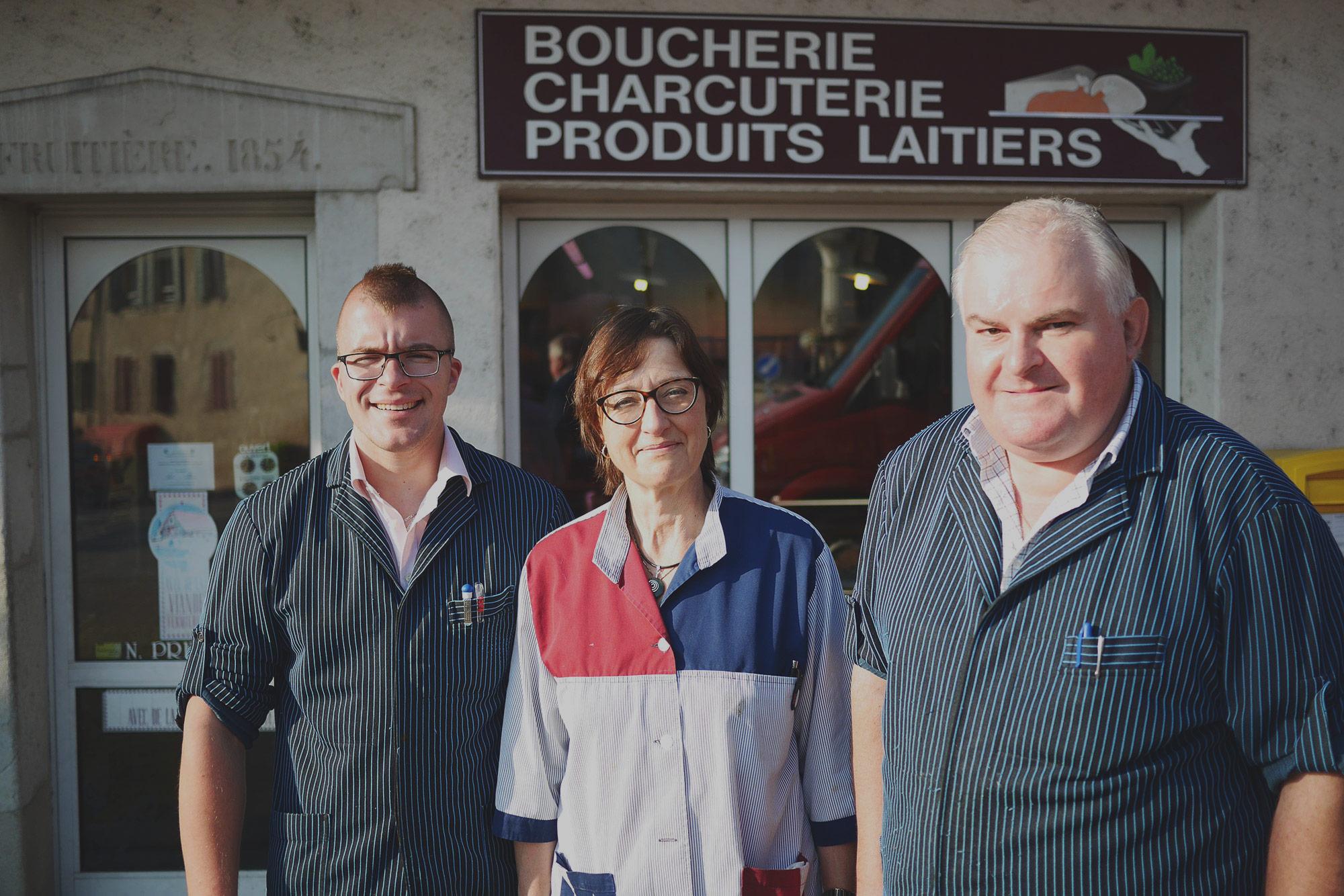 Famille Prélaz Boucherie Genolier